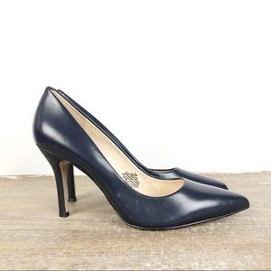 Nine West Flax Navy Pumps Heels